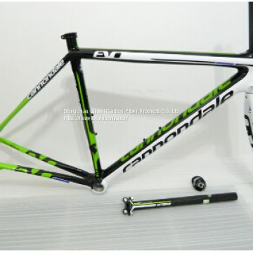 cannondale frame carbon road bike frame DI2 all internal Derailleur Cables Carbon Road Frame