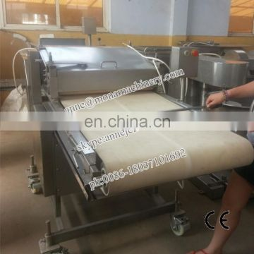 Alibaba express stainless steel unique electric meat flattening machine with Hamburger meat