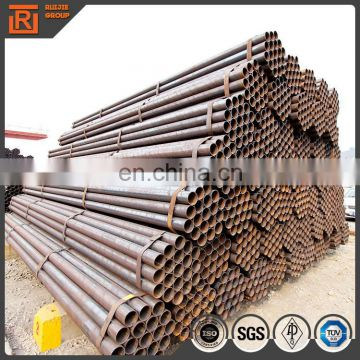 Schedule 40 black round scaffolding materials steel pipe