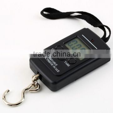 Electronic digital luggage scale fishing scale 40kg,fishing portable scale,luggage scale