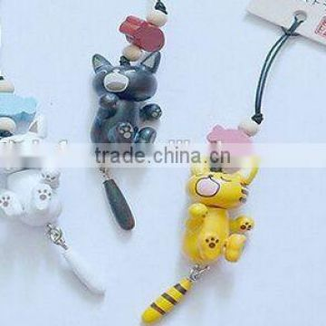 cute catty 3d pvc keychain,custom design keychain toy,cheap custom made keychains