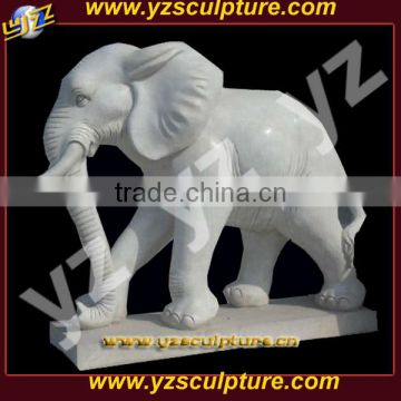 decorative life size stone elephant animal sculpture