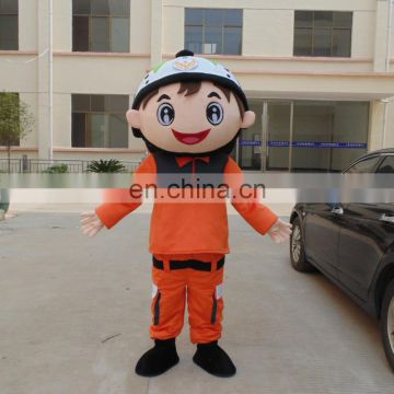 Factory direct sale fireman sam mascot costume for adults