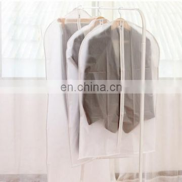 High Quality PEVA Semi-transparent Clothes Dustproof Western-style Clothes Hanging Cover Plus XS S M L XL