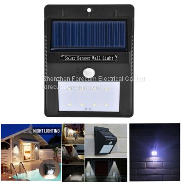 Best quality solar led wall light outdoor garden wall lamp