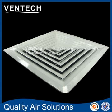 most popular free sample square air vent supply air diffuser