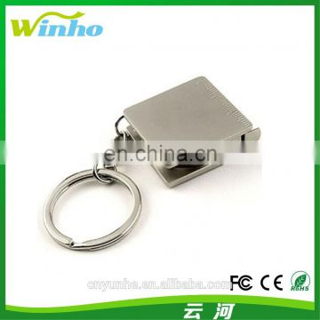 Winho 2- in- 1Metal key chain tape measure