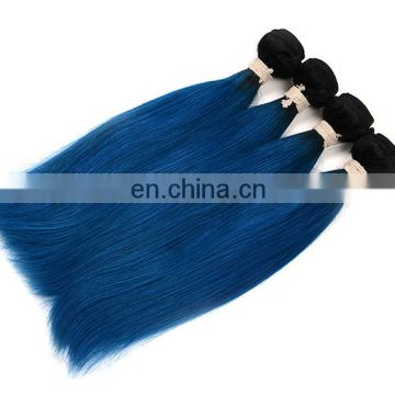 remy ombre color human hair extension China wholesale human hair weave