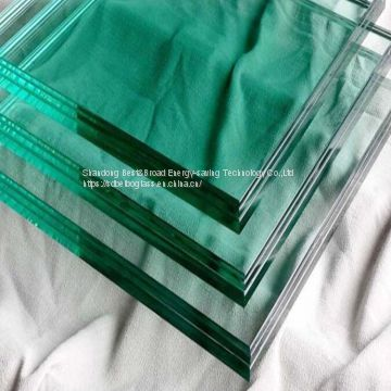 China Manufacturer stained laminated glass for curtain wall