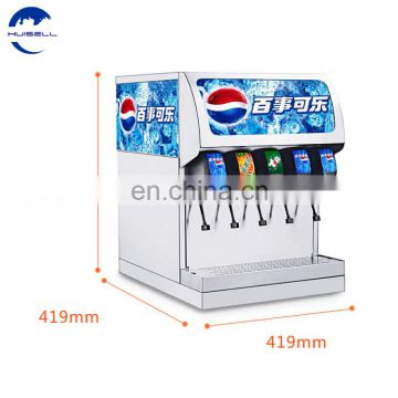 5 valves automatic electric beveragedispensercolacarbonated soft drink makingmachine