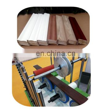 Cold Glue Wrapping Machine Woodworking Mdf Laminating Machine