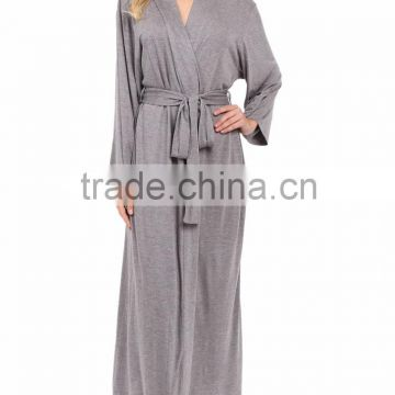 Wholesale Soft Cool Long Sleeve Women Modal Bathrobe