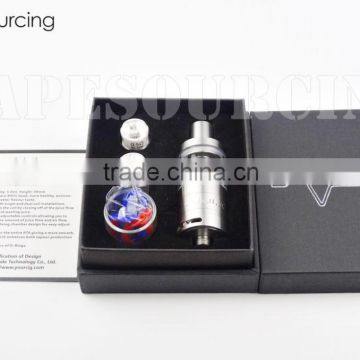 High Quality Wholesale UD Goliath V2 Tank Fit 5ml Capacity 0.5 / 0.15ohm RBA ROCC Coil Goliath V2 Tank vs eVic VTC mini TRON-S