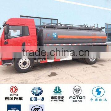 mobile 6x4 chemical truck