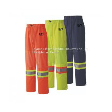Hi Vis Safety Traffic Pant
