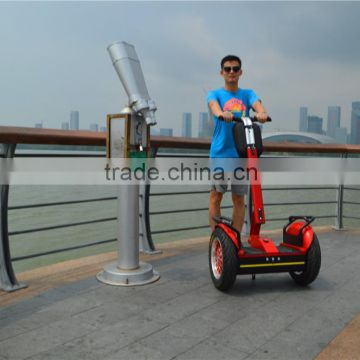 72V CE Battery powered electric chariot 2 wheels balance scooter cheap price bicycle scooter
