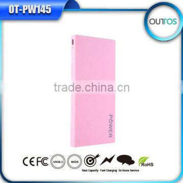 Power band portable cellphone charger 8000mah promotional gift mobile power bank