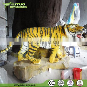 Vivid animated animatronic South China Tiger