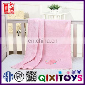 Newest Design custom design colored animal print blanket china factory handmade blanket