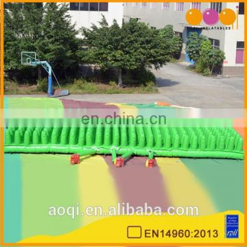 AOQI new design inflatable safety mat for sports game for sale
