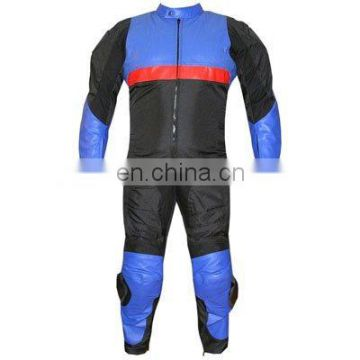 HMB-2113A MOTORCYCLE BIKER LEATHER JACKETS SUITS RIDING WEARS