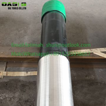 water well screen with base pipe all welded wedge wire screeen and