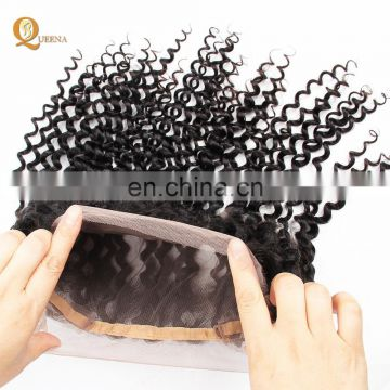 Best Wholesale Peruvian Hair Closure Bundles Lace Frontal 360 Curly Closure