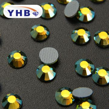 2018 YHB Best shining crystal rhinestone manufacturer Wholesale for dress