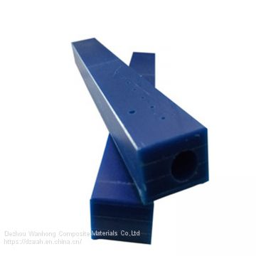HDPE material abrasion guide rail customized UHMWPE guide rail