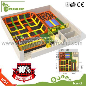 kids indoor trampoline with high jump mats for sale,children commercial trampoline for sale