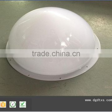Custom vaccum thermoforming plastic blister light cover