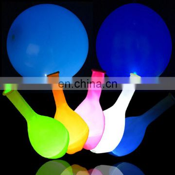 led balloon size 12 inch flashing led light balloon