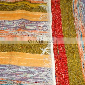 Chindi Rag Rug Indian Rug Recycled Cotton Floor Dari Wove