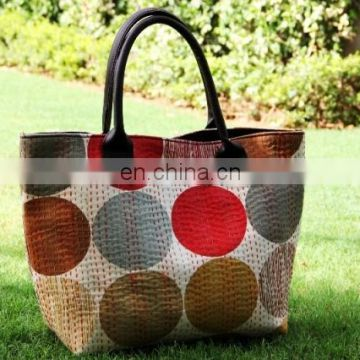 hot sales women holder european style handbag import from india cotton tote bag