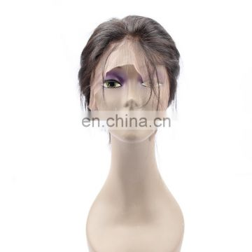 Wholesale cheap 360 Full lace wig Remy Brazilian Peruvian Indian human hair curly wigs in Dubai
