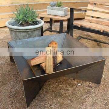 Rustic Patina Outdoor Camping Heater Fire Pit