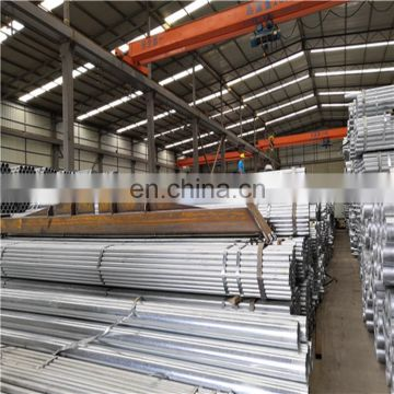 Hot sale ASTM A53 GI pipes galvanized seamless steel pipe