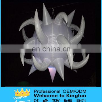 Party/event/show/promotion/festival hanging inflatable led star