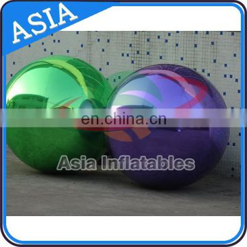 8m Dia Decorating Balloon , Decorations Inflatable Mirror Balloon For Fairs And Festivals