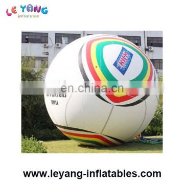 Customized Inflatable Advertising Helium Balloon, Inflatable world cup ball