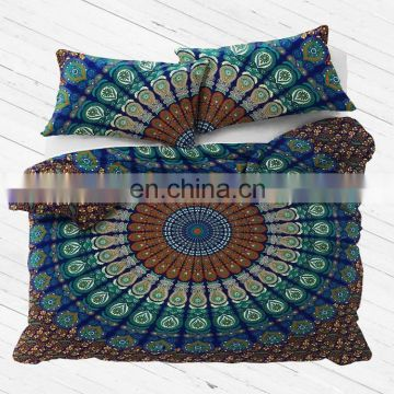 Indian Duvet Cover Comforter Mandala Hippie Bohemian Queen Bedding Set