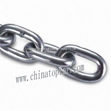 Stainless seel anchor chain for boat and luxury yacht:DIN763,DIN766,DIN5685 anchor chain,Short link chain