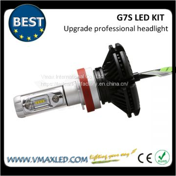 G7S-H11 Super Bright 5000LM Aluminum Metal Cooling LED Headlight
