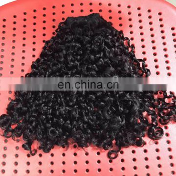 Hot beauty 7A Small Kinky human virgin hair for wholesaler