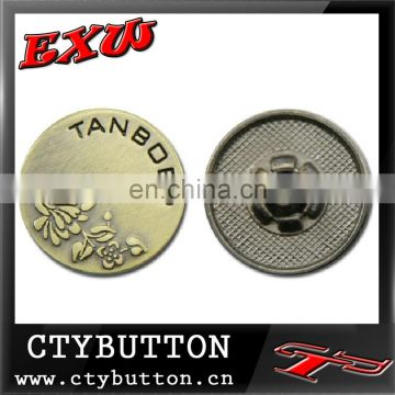 CTY-SO29 western metal buttons snap rivet for clothes