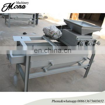 Good quality almond shell crush machine/walnut almond shell and kernel separating machine
