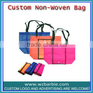 Cheap Printed Custom Non Woven shopping Bag