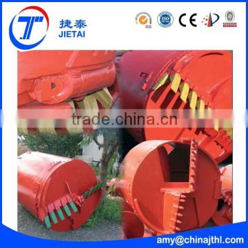 High quality excavator part--drilling rig bucket! New design drilling rig bucket of rotary drilling rig!