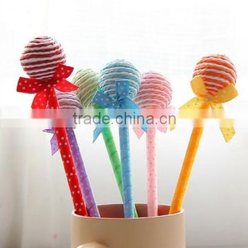 TK-09 Japanese and korean stationery ,Cute Kawaii Korea Novelty lollipops ball pen