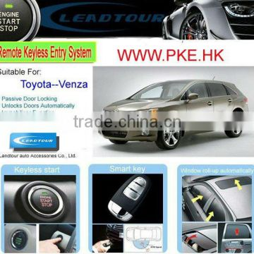 Smart Keyless Entry System Remote Control Engine Starter Push Button Start/Stop System for Toyota Venza